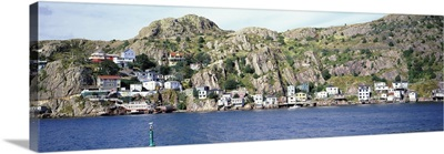 View from the harbor, St.John's, Newfoundland, Canada