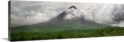View of Arenal Volcano National Park, Costa Rica