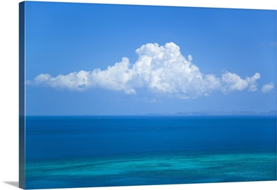 View Of Clouds Over Ocean