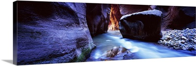 Virgin River at Zion National Park, Utah