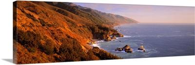 Vista Point Big Sur CA