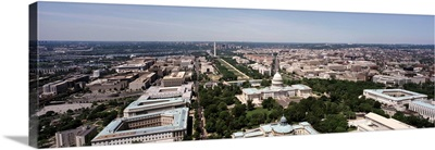 Washington DC, aerial