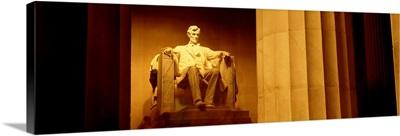 Washington DC, Lincoln Memorial , night