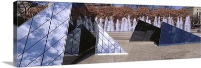 Washington DC, National Gallery of Art, Modern pyramid