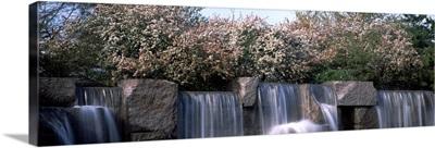Waterfall, Franklin Delano Roosevelt Memorial, Washington DC
