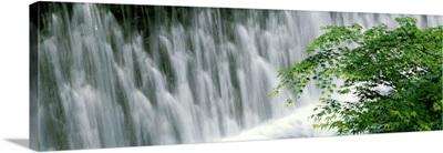 Waterfall on Kibune River, Kyoto, Japan