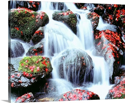 Waterfalls Kyoto Japan