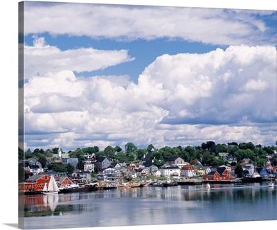 Waterfront and Town Lunenburg Nova Scotia Canada
