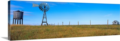 Watertower And Windmill N