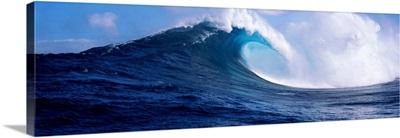 Waves in the sea, Maui, Hawaii,