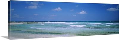Waves on the beach, Cancun, Quintana Roo, Mexico