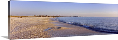 Waves on the beach, Lovers Key State Park, Fort Myers Beach, Gulf of Mexico, Florida