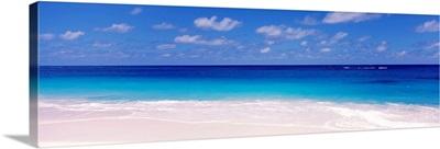 Waves on the beach Shoal Bay Beach Anguilla