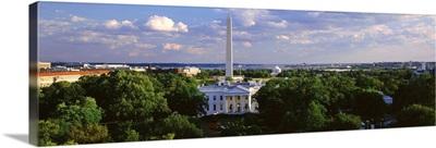 White House and Washington Monument Washington DC
