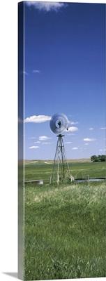 Windmill in a field, Nebraska