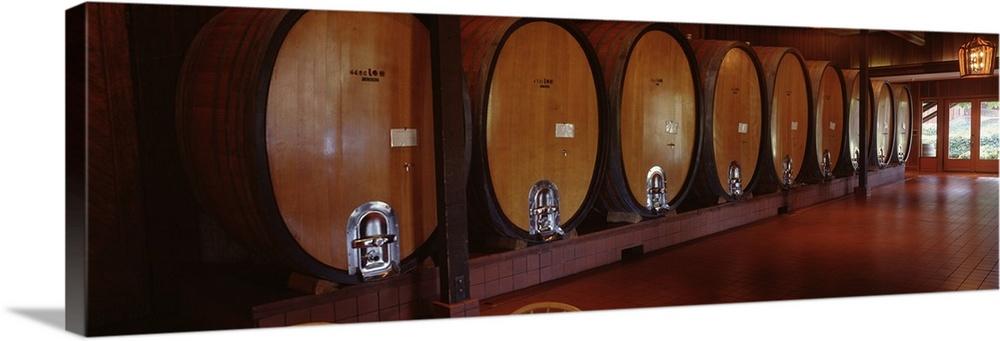 Wine Storage Napa Wine Country CA
