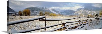 Winter Aspen CO