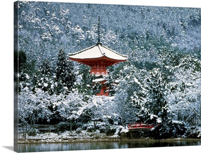 Winter, Taho-To Ukyoku, Kyoto, Japan