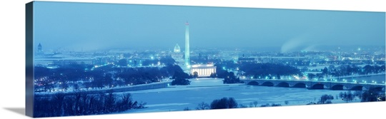 Washington Dc Wall Art winter washington dc wall art, canvas prints, framed prints, wall