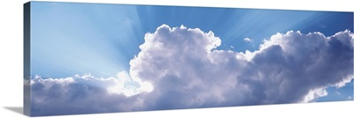Wyoming, View of rain clouds