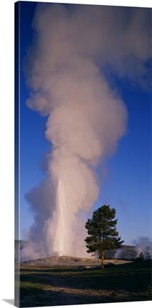 Wyoming, Yellowstone Park, Old Faithful