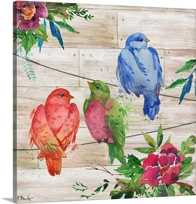 Abloom Birds I