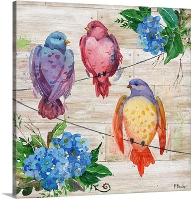 Abloom Birds II
