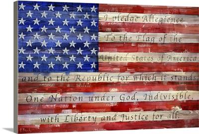 All American Flag - Script