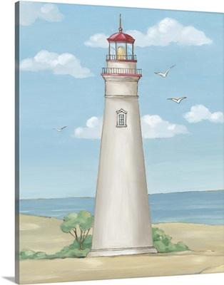 Americana Lighthouse - Marblehead