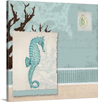 Aquarius I Blue - Square