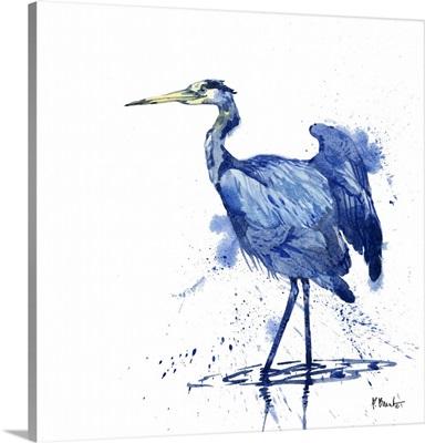 Arianna Blue Heron - White