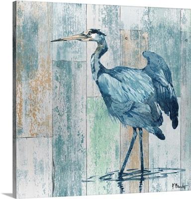 Arianna Blue Heron - Wood