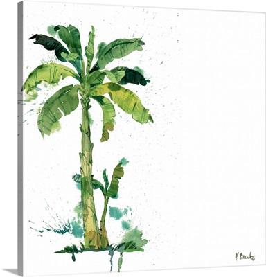 Arianna Palm III - White