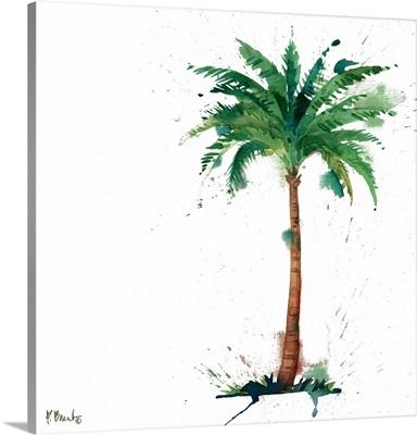 Arianna Palm IV - White