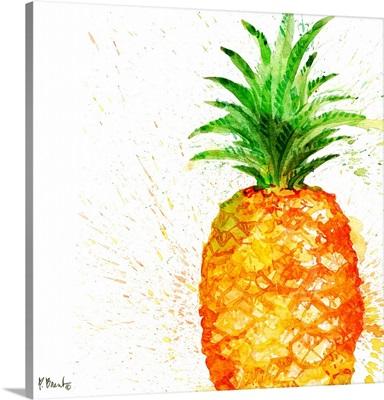 Arianna Pineapple - White