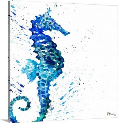 Arianna Seahorse I - White