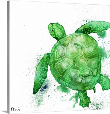 Arianna Turtle - White