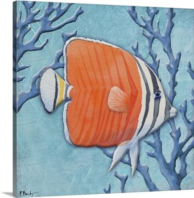 Azure Tropical Fish IV