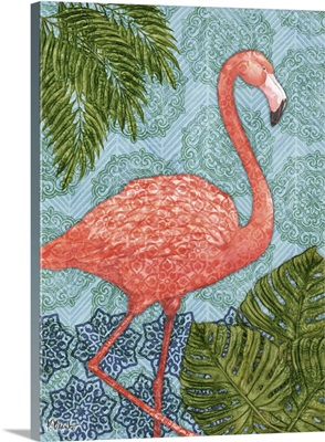 Bahama Flamingo Vertical