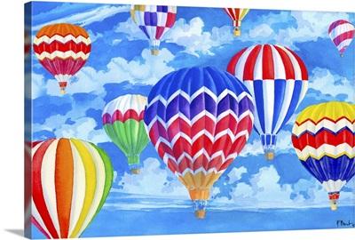 Balloon Sky Horizontal
