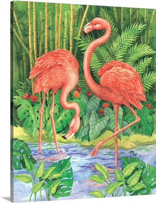 Bamboo Flamingo