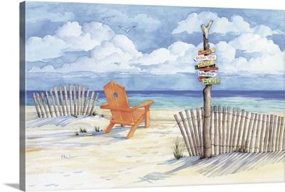 Beach Signs - Oceanview