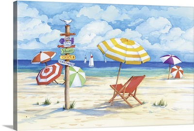 Beach Signs - Umbrella