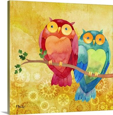 Bird Buddies I - Owl