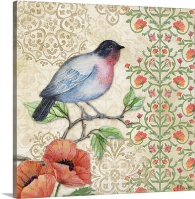 Blossoming Birds I