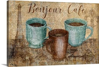 Bonjour Cafe Horizontal