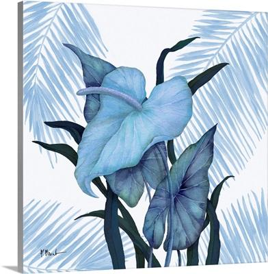 Cabana Daze  III - Blue