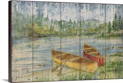 Canoe Camp Distressed