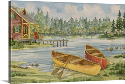 Canoe Camp with Cabin