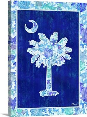 Carolina Girls Vertical - Blue